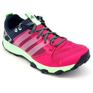Adidas Kanadia TR7 Womans Running Shoe Size 9 Pink
